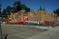 New House being constructed in Santa Rosa.