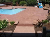Pool Deck in Mill Valley